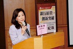 銀行公會理事長李紀珠演講