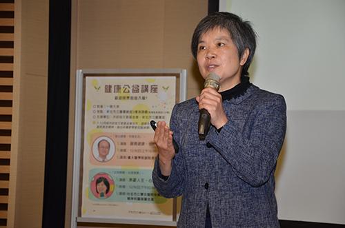 台北市立聯合醫院中興院區精神科醫師詹佳真演講:無憂人生 心理健康
