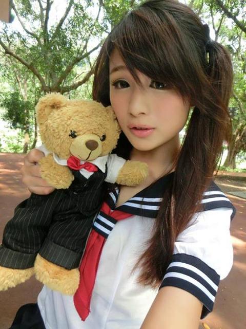 今天是學生妹〜可愛不可愛?