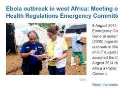 伊波拉病毒案例再增 961人死亡