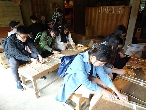 房總之村-木筷製作