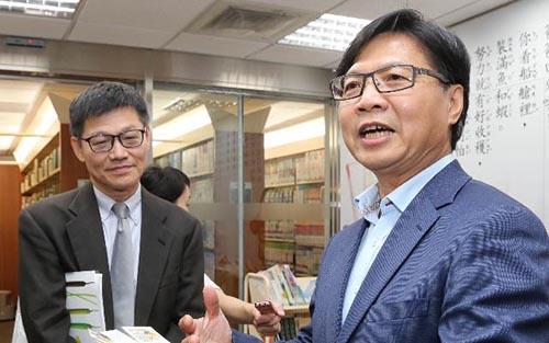 教育部長葉俊榮訪視國教院 了解新課綱整備情形
