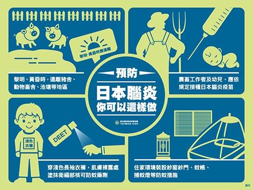 宜蘭縣首例日本腦炎個案,呼籲預防做好各項措施