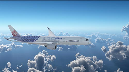 華航與空中巴士 A350 聯名彩繪機10月抵台 空飛圖曝光