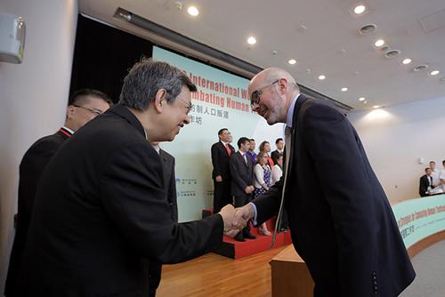 副總統陳建仁籲國際正視台灣在防制人口販運的貢獻