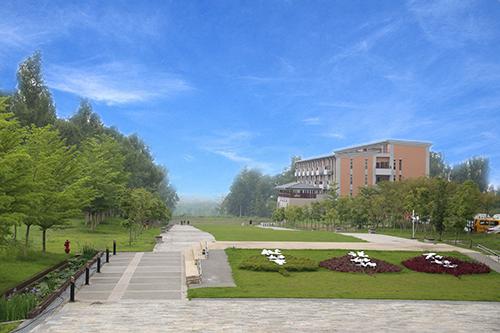 南華大學校景
