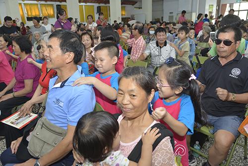 祖孫同樂 雲林縣北港樂齡學習中心慶祝祖父母節