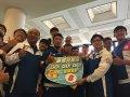 教育部長葉俊榮親赴印尼亞運為選手加油