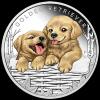 台銀:黃金獵犬彩色精鑄銀幣,可愛登場!