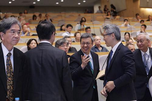 副總統陳建仁出席「第三屆台灣研究事屆大會」開幕典禮