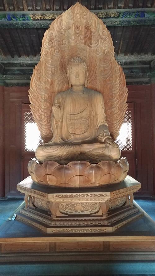 釋迦牟尼佛像(張汶寧攝)