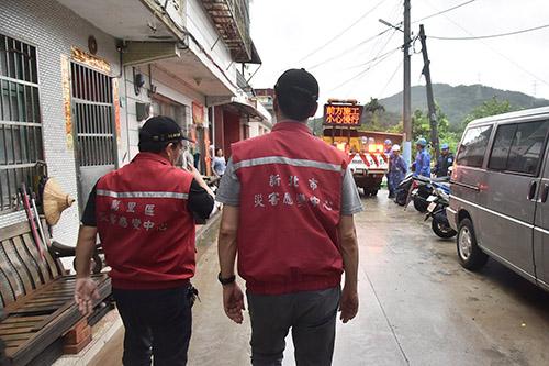 新北大雨不斷 市長朱立倫指示做好防災、嚴陣以待
