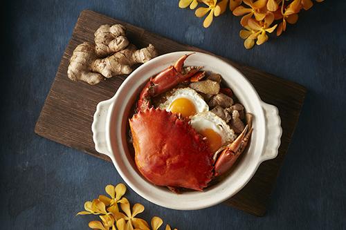 麻油沙母燉雞湯