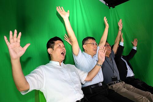 企業參訪暨數位產業升級論壇_i-Ride體驗中心_高讚賢攝