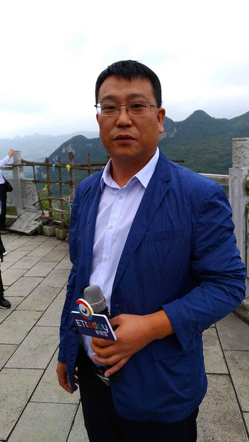 中交路橋建設有限公司總經理張慧(張汶寧攝)