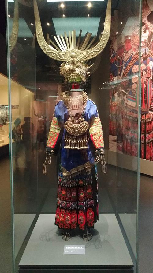 苗族服飾(張汶寧攝)