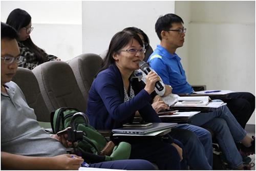 學員與講師互動交流,踴躍提出問題