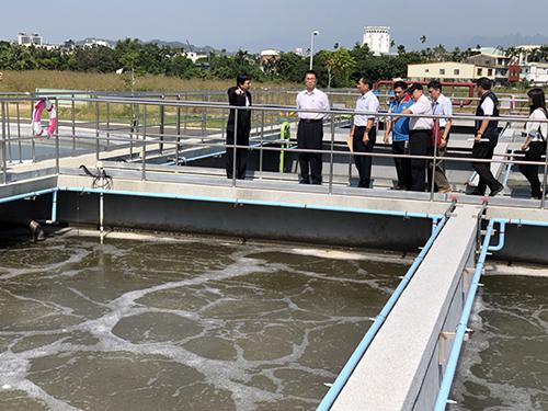 內政部長徐國勇訪視草屯水資源回收中心