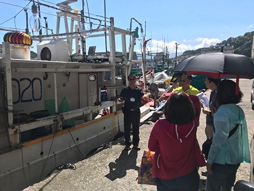 基隆市漁船現勘情形(勝吉58號)