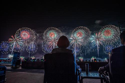 國慶焰火在花蓮 總統蔡英文:請來體會花蓮的美好