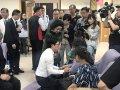 教育部長葉俊榮、政務次長范巽綠慰問1021普悠瑪事件傷亡師生