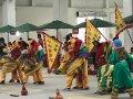 屏東客家傳統舞獅首次以聯隊形式展演