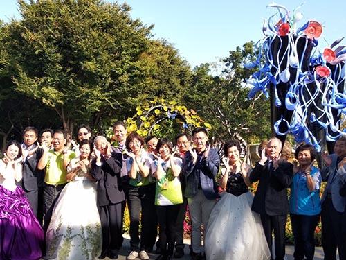 台中市豐原葫蘆墩公園開園儀式