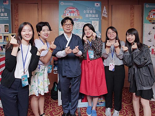 教長葉俊榮與全球青年話未來—引爆青震「Youthquake」!