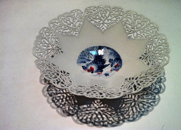 17cm鏤空薄胎碗(闔家歡)