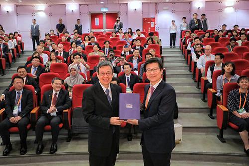 副總統出席2018年亞洲職業衛生聯盟學術研討會