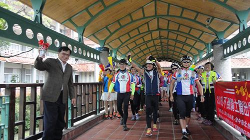 宜蘭舉辦「不倒騎士、騎出生命」單車環台圓夢之旅