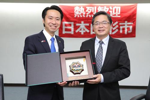 日本山形市經濟訪問團拜會台南市長李孟諺