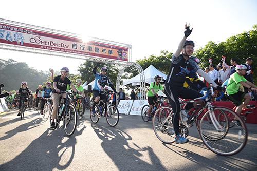2018台灣自行車節日月潭迎風 挑戰全球最美自行車道