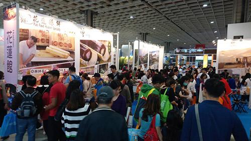 台北國際旅展湧萬人潮 花蓮館買氣燒滾滾業績開紅盤