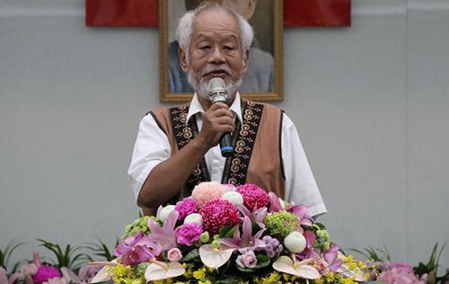 2018年10月1日應邀出席臺文館新館長就職典禮