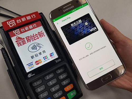 台新銀Hami Pay行動支付上線 推3%Hami Point回饋
