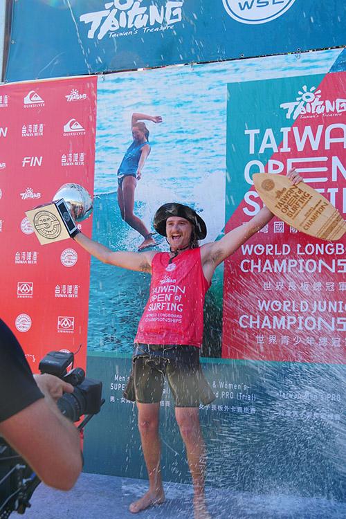2018臺灣國際衝浪公開賽-世界男子長板總冠軍由南非Steven Sawyer技壓群雄奪冠
