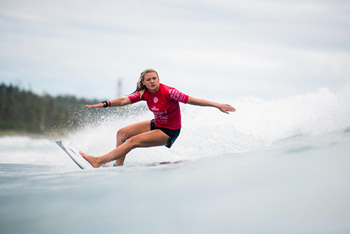 台灣國際衝浪公開賽世界女子青少年總冠軍6日出爐