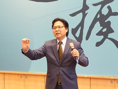 教育部長葉俊榮出席2018年學思達亞洲年會鼓舞教師社群