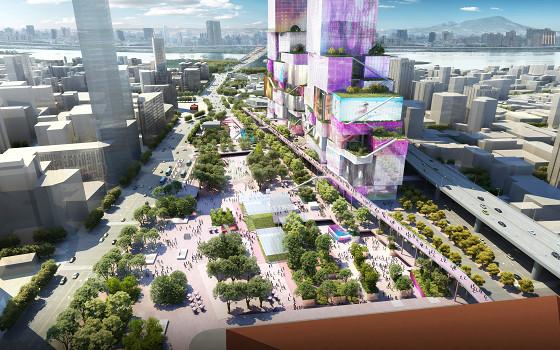 台北西門門戶計畫CITY ONE 交六交八廣場圖