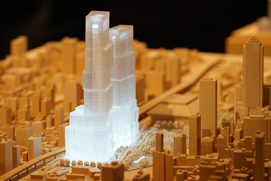 台北西門門戶計畫C1D1建築模型