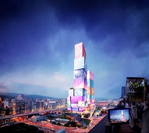 台北西門門戶計畫CITY ONE全景圖