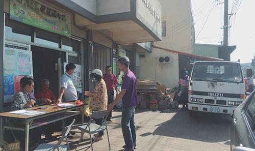 台中市外埔永豐里「希望資收站」推動老人送餐