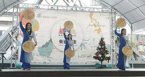 台中市東協市集暨越南聖誕節主題活動登場