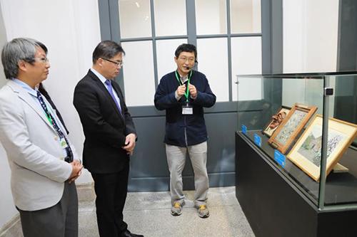 台南市政府典藏禮品特展開展