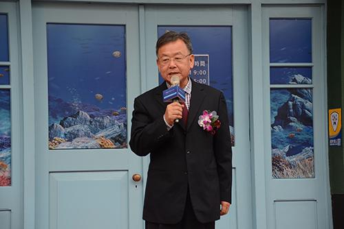 澎湖縣長賴峰偉出席澎湖水下考古工作站揭牌