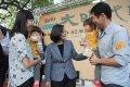 總統蔡英文:盼年輕世代勇敢堅定挑起未來的責任