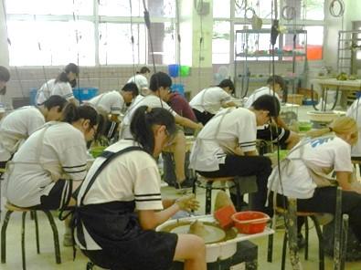 鶯歌工商-「陶瓷工程科」新課綱選修課程成果呈現
