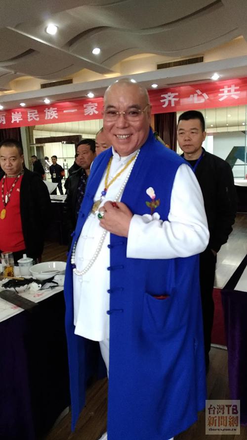 大陸世界佛教會執行主席李杰(張汶寧攝)