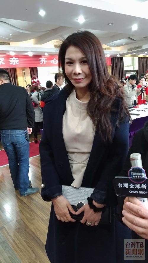 台灣新住民經貿交流協會理事長賀樺(張汶寧攝)